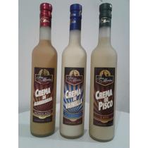 Cremas De Cafe , Algarrobina , Vainilla (chincha - Ica)