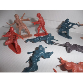 Soldaditos De Plastico Bolsa X 12