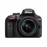 Camara Nikon D3400 24.2 Mp Con 18-55mm F/3.5-5.6 Af-p Vr