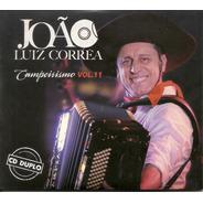 Cd - João Luiz Correa - Campeirismo Vol. 11 (cd Duplo)