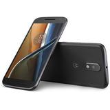 Moto G4 Xt1626 5,5 Dual 16gb Octa Dtv Android6 - Preto Novo