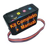 Sistema Continuo De Lujo Full Tinta Hp Y Canon Kit Completo
