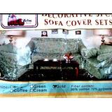 Forro Para Muebles 3pzs Set Decorativos