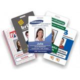 Cracha Pvc, Cartão Personalizado, Credenciais