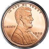 (1) Centavo De Lincoln Trigo | 1 Oz .999 Avdp Muy Bien Alre