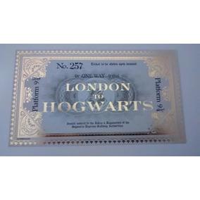 Bilhete Expresso Hogwarts Harry Potter Oficial Omelete Box