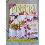 Revista Trabalho De Pintura E Crochê Panos De Prato