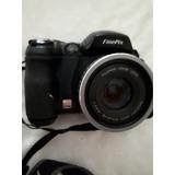 Câmera Fuji Finepix S 5000 Com Defeito Na Tampa.