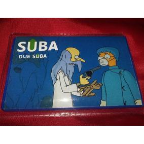 Porta Sube De Los Simpsons Mas Sobre De Regalo