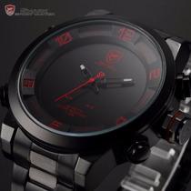 Reloj Militar Hombre Digital-cuarzo Shark Descuento Especial