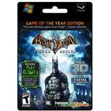 Batman Arkham Asylum Goty Pc Original Steam Key
