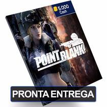 Cartão Point Blank 5.000 5k Pb Cash Card On Game Pc