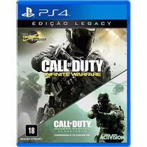 Call Of Duty Infinite Warfare Ps4 Legacy Edition Mídia Fisíc