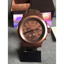 Relógio Michael Kors Mk8216 Brown Original Completo C/ Caixa