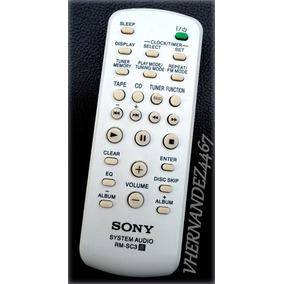 Control Remoto Sony Genezi Rm-sc3 Equipos De Sonidos.