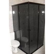Box Para Banheiro Vidro Fumê 1,0m 1,2m 1,3m 1,4m 1,5m Etc...