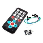 Controle Remoto Infravermelho Hx1838 Arduino Raspberry