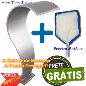 Cascata Piscina Aço Inox High Tech Junior A Melhor + Brinde