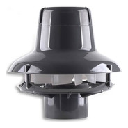 Extractor/forzador Ecoclima 702 Abierto Tc 4 /100mm 300m3/h