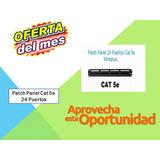 Patch Panel Cat 5e 24 Puertos Xt-pp24-5e