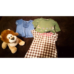 Ropa Niña-bebé Zara, H&m, Carter