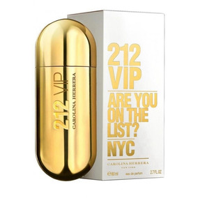 Perfume Carolina Herrera 212 Vip Para Dama Original Nuevo