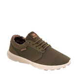 Tenis Casual Hammer Run Supra Color Olivo Textil Is906 A
