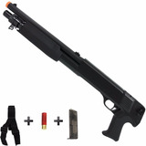 Rifle Escopeta Airsoft Spring Csi Shotgun M56b Pistol Grip