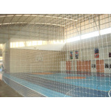 Rede Proteção / Quadras Society /campo Futebol Malha 15cm