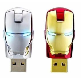 Pen Drive Homem De Ferro 64gb Iron Man - A Pronta Entrega***