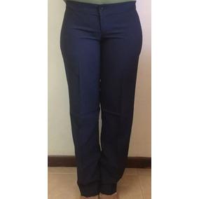 aaad4f64ea47f Pantalon Azul Para Uniforme De Dama - Pantalones de Mujer en Mercado ...