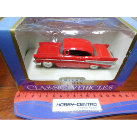 Ertl 1/43 Chevrolet Chevy 1957 Die Cast Impecable !!