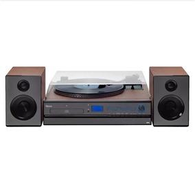 Sistema De Som Hi-fi Raveo Aria Com Toca Discos, Cd, Rádio