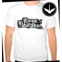 Camiseta Bring Me The Horizon Logo Baby Look Regata Camisa