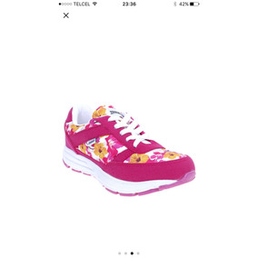 Tenis Fiusha Floral Sport / Deportivo Fitness Gym Correr
