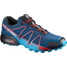 Zapatillas Salomon Speedcross 4 Hombre (400797)+regalo