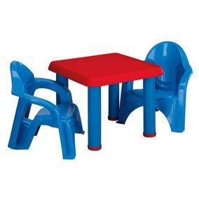 Mesa Y Sillas Para Niños - American Plastic