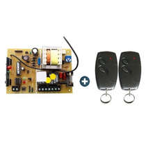 Placa Central P/ Motor Portão Eletronico Garen + 2 Controles