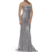 Vestido De Fiesta Juliet Modelo 532 # Xs Color Silver O Gold