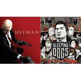Hitman Absolution + Sleeping Dogs Ps3 Combo Digital Español