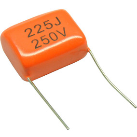 Capacitor P/ Super Tweeter Technoise Poliéster 2.2uf X 250v