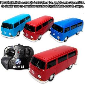 Carrinho De Controle Remoto Volkswagen Kombi 1/24 Promoção