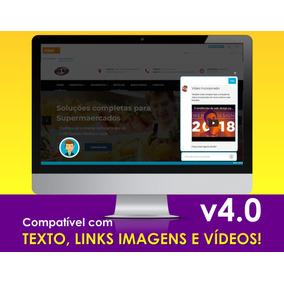 Chatbot 4.0 2018 Texto, Link, Imagens Vídeos! S/ Mensalidade