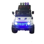 Auto Camioneta Bateria 12v 4x4 Con Control Remoto