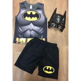 Roupa Batman Super Heróis