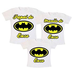 Kit 3 Camisetas Mickey Aniversário Frete Grátis Brasil