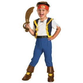 Disfraz Jake El Pirata De Nunca Jamas 3/4 Años Entrega Inmed