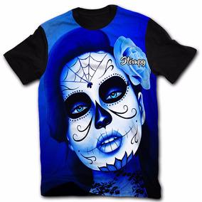 Camiseta Camisetas Camisa Tattoo Tatuagem Caveira Rock Top14