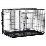 Casa Para Perro Precision Pet Dos Puertas Gran Cajón W7