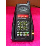 Teléfono Celular Antigüo Motorola Serie Platinum Años 80